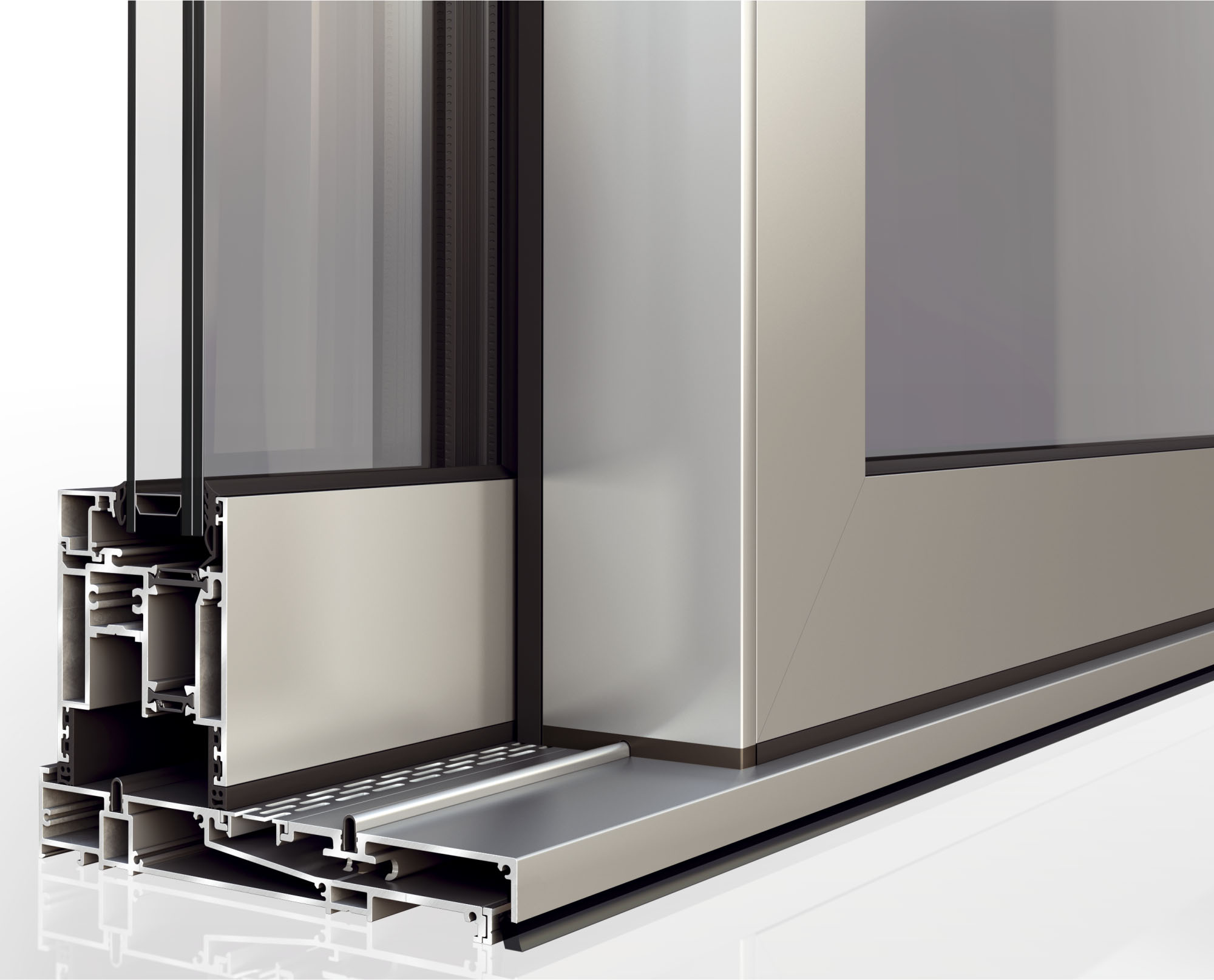 Prime Zahariou Products Frame Systems Aluminium Wood